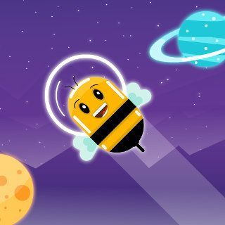 Gioca a Cosmic Bee  🕹️ 🏃
