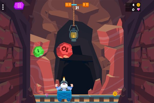 Crazy Caves 🕹️ 🏃 | Free Arcade Action Browser Game - Image 2