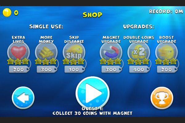 Fishy Rush 🕹️ 🏃 | Free Action Skill Browser Game - Image 1