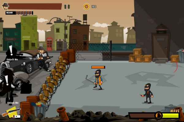 Mafia Wars 🕹️ 🏃 | Free Arcade Action Browser Game - Image 2