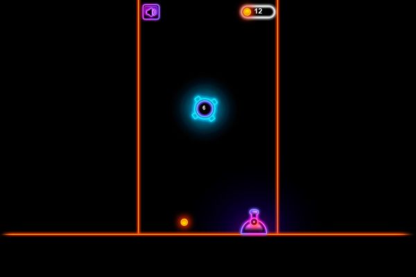 Neon Blaster 🕹️ 🏃 | Free Skill Action Browser Game - Image 2
