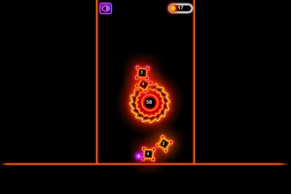 Neon Blaster 🕹️ 🏃 | Free Skill Action Browser Game - Image 3