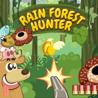Play Rain Forest Hunter  🕹️ 🏃