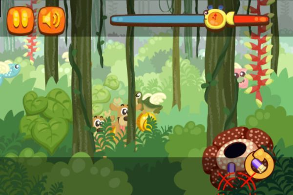 Rain Forest Hunter 🕹️ 🏃 | Free Action Skill Browser Game - Image 3