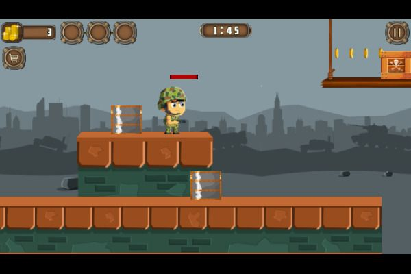 Soldiers Combat 🕹️ 🏃 | Free Action Arcade Browser Game - Image 2