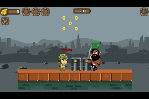 Soldiers Combat 🕹️ 🏃 | Free Action Arcade Browser Game - Image 3