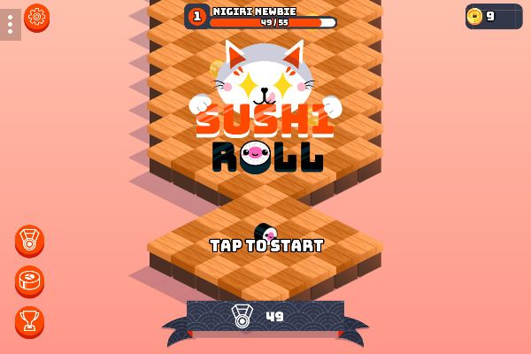Sushi Roll 🕹️ 🏃 | Free Arcade Action Browser Game - Image 1