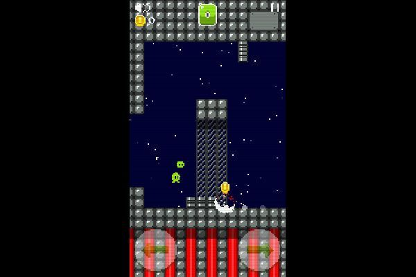 Tiny Alien 🕹️ 🏃 | Free Action Arcade Browser Game - Image 1