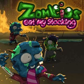 Spielen sie Zombies Eat My Stocking  🕹️ 🏃