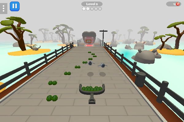 Zoo Feeder 🕹️ 🏃 | Free Arcade Action Browser Game - Image 2