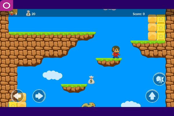 Alex 2D 🕹️ 🗡️ | Free Adventure Arcade Browser Game - Image 1