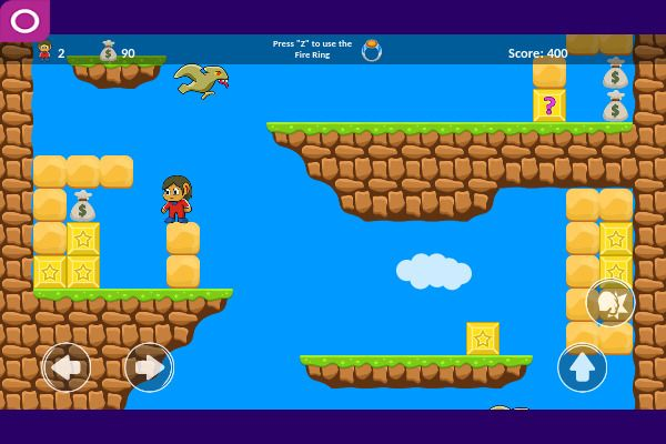 Alex 2D 🕹️ 🗡️ | Free Adventure Arcade Browser Game - Image 3
