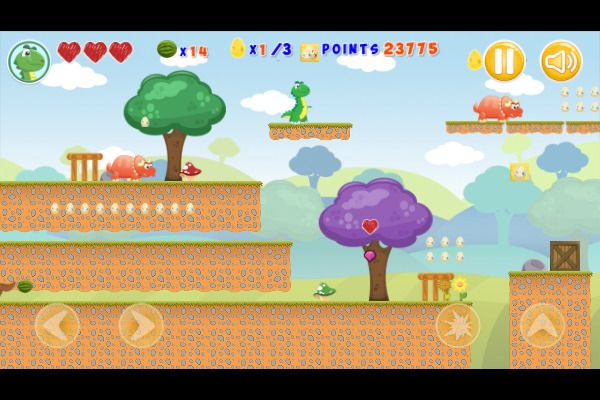 Little Dino Adventure Returns 🕹️ 🗡️ | Free Adventure Arcade Browser Game - Image 2