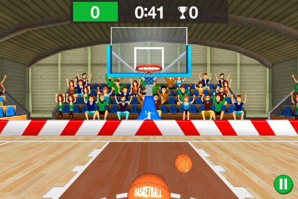 3D Basketball 🕹️ 👾 | Free Arcade Browser Game - Image 1