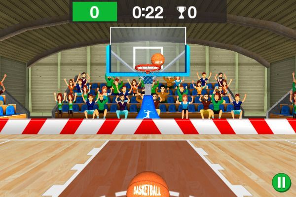 3D Basketball 🕹️ 👾 | Free Arcade Browser Game - Image 2