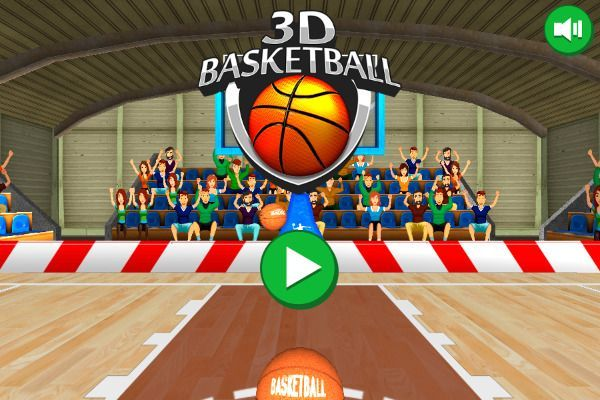 3D Basketball 🕹️ 👾 | Free Arcade Browser Game - Image 3