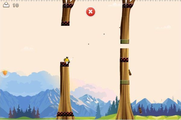 Angry Flappy Wings 🕹️ 👾 | Free Arcade Action Browser Game - Image 1