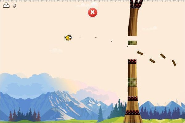 Angry Flappy Wings 🕹️ 👾 | Free Arcade Action Browser Game - Image 2
