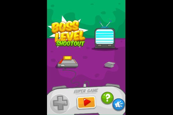 Boss Level Shootout 🕹️ 👾 | Free Arcade Action Browser Game - Image 1