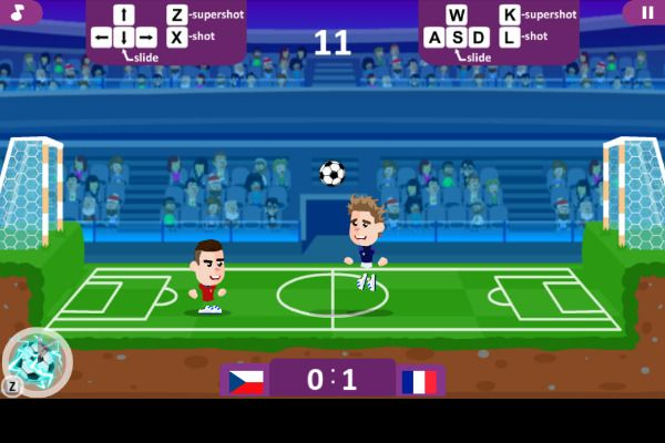 Football Masters 🕹️ 👾 | Free Casual Arcade Browser Game - Image 2