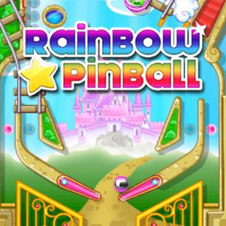 Rainbow Star Pinball - Arcade Free Browser Game