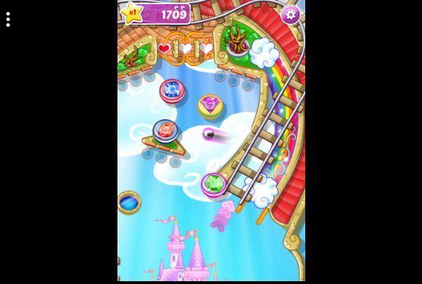 Rainbow Star Pinball - Arcade Free Browser Game