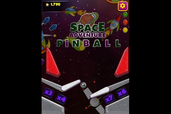 Space Adventure Pinball 🕹️ 👾 | Free Arcade Browser Game - Image 3