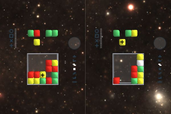 Star Cubes EVO 🕹️ 👾 | Free Puzzle Arcade Browser Game - Image 2