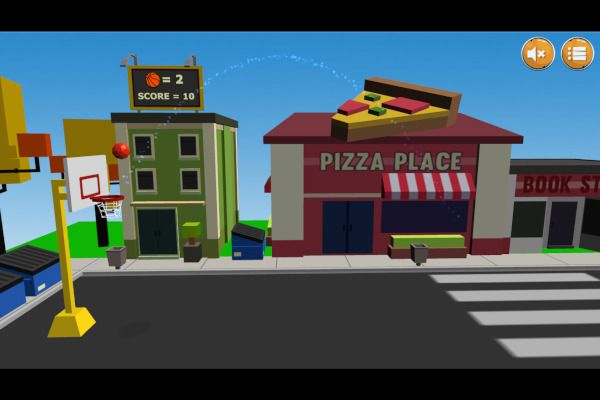 Street Hoops 3D 🕹️ 👾 | Free Skill Arcade Browser Game - Image 3
