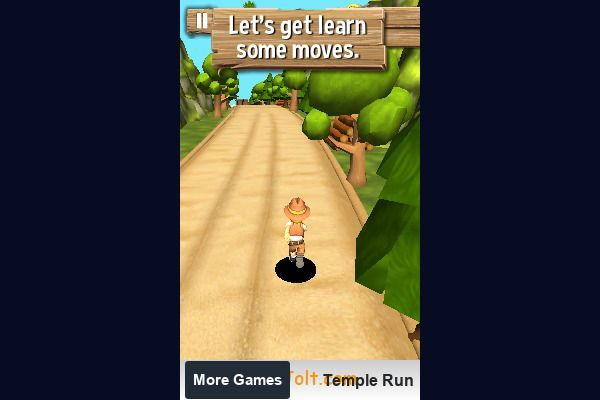 Tomb Temple Run 🕹️ 👾 | Free Arcade Action Browser Game - Image 1