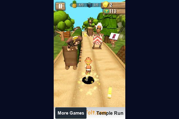 Tomb Temple Run 🕹️ 👾 | Free Arcade Action Browser Game - Image 2