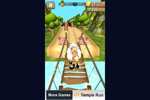Tomb Temple Run 🕹️ 👾 | Free Arcade Action Browser Game - Image 3