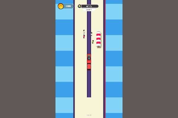 Train Snake 🕹️ 👾 | Free Casual Arcade Browser Game - Image 1