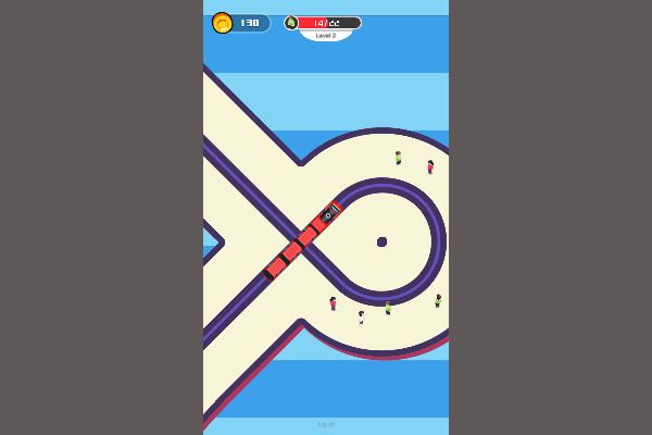 Train Snake 🕹️ 👾 | Free Casual Arcade Browser Game - Image 3