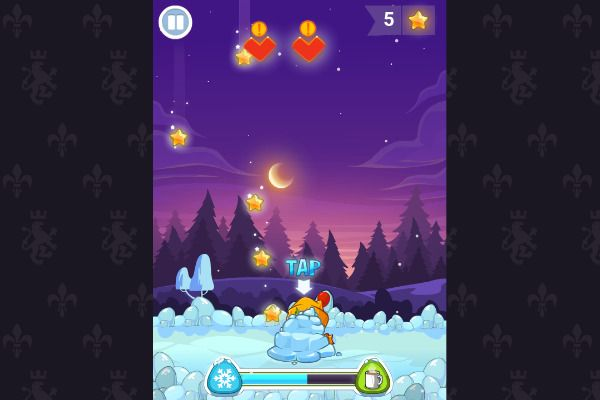 Winter Adventures 🕹️ 👾 | Free Skill Arcade Browser Game - Image 2