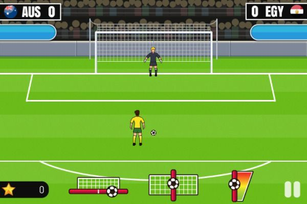World Cup Penalty 2018 🕹️ 👾 | Free Arcade Skill Browser Game - Image 1
