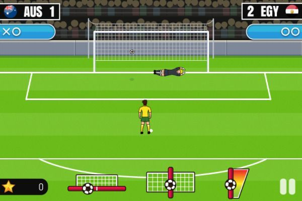 World Cup Penalty 2018 🕹️ 👾 | Free Arcade Skill Browser Game - Image 2