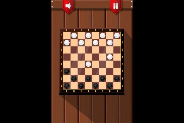 Checkers 🕹️ 🎲 | Free Board Strategy Browser Game - Image 1