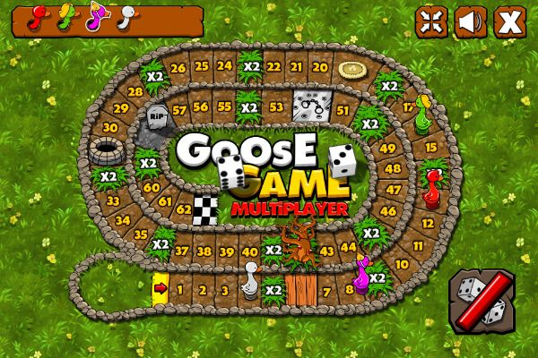 Goose Game Multiplayer 🕹️ 🎲 | Free Board Casual Browser Game - Image 2
