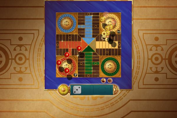 Parcheesi Deluxe 🕹️ 🎲 | Free Board Strategy Browser Game - Image 1
