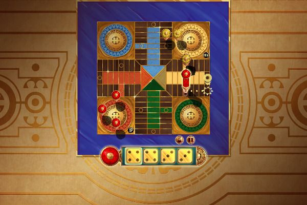 Parcheesi Deluxe 🕹️ 🎲 | Free Board Strategy Browser Game - Image 3