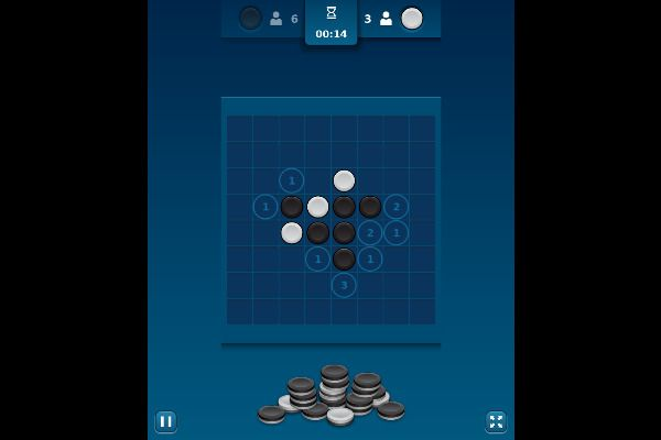 Reversi Mania 🕹️ 🎲 | Free Board Strategy Browser Game - Image 1