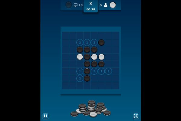 Reversi Mania 🕹️ 🎲 | Free Board Strategy Browser Game - Image 2