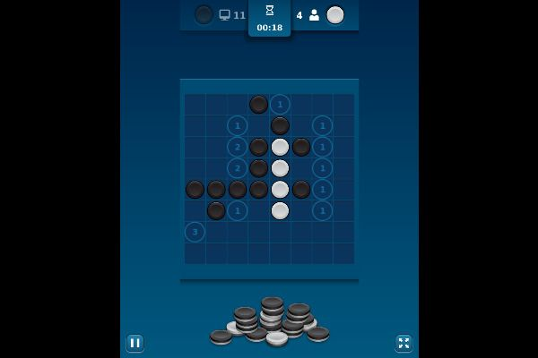 Reversi Mania 🕹️ 🎲 | Free Board Strategy Browser Game - Image 3