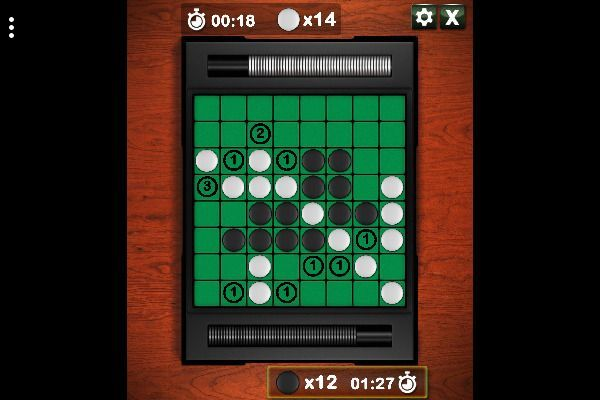 Reversi 🕹️ 🎲 | Free Skill Board Browser Game - Image 1