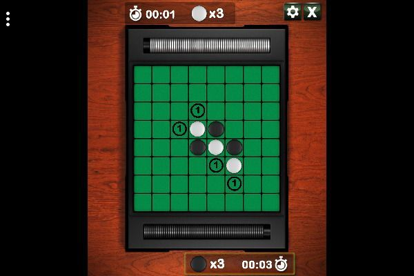 Reversi 🕹️ 🎲 | Free Skill Board Browser Game - Image 2