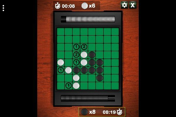 Reversi 🕹️ 🎲 | Free Skill Board Browser Game - Image 3