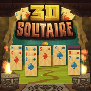 Play 3D Solitaire  🕹️ 🃏