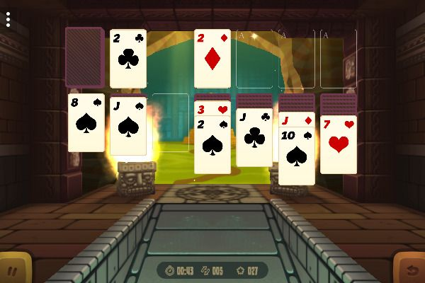 3D Solitaire 🕹️ 🃏 | Free Cards Browser Game - Image 1