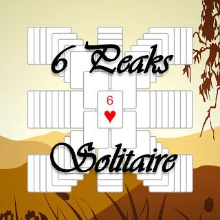 Play 6 Peaks Solitaire  🕹️ 🃏